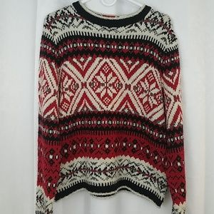 Basic Editions Holiday Sweater  Size XL